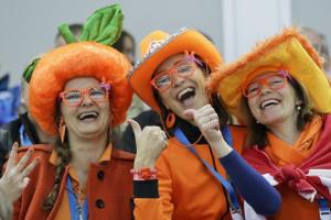 Because they're always decked in orange. One even has an orange shaped hat.