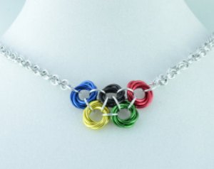 Even on a necklace. However, best not wear it during the Winter Games though.
