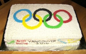 This was made in 2010 for the Vancouver Winter Games. But it's just as good for my post anyway.
