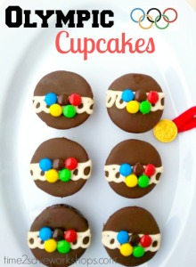 Because they consist of Hostess cupcakes decorated with M&Ms as rings. Pretty clever and adorable, too.