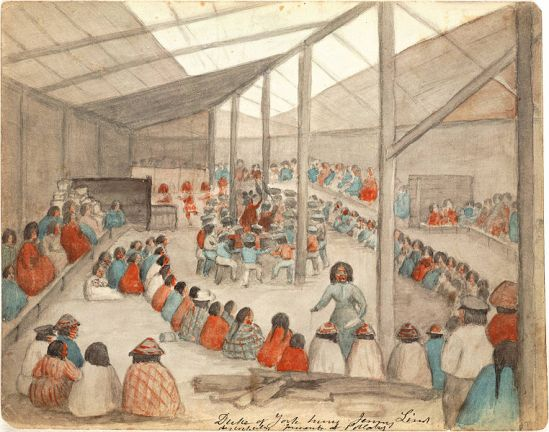 Potlatch-Klallam_people_at_Port_Townsend