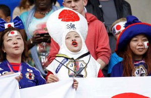 Because that's what this woman is dressed as. I know it's ridiculous, but you expect such stuff from Japan.