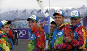 "From the Richest: ""Although obviously not part of any Olympic team, these garish uniforms nonetheless warrant a place on our list for simply being the very definition of 'eye vomit.' This is the likely result of what happens when you mate a Crayola crayon set with a myopic cartographer."""