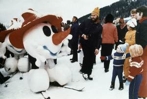 "From SBNation: ""Schneemann (fighter of the Night Man) is proof that even way back in 1976, the Olympic mascot design people didn't have a firm grasp on sanity. It's just a snowman head with arms and legs stuck onto it. The plush version is especially chilling. This is something that not even Calvin would make out of snow to annoy his father. I don't know what horrible sorcerer did this to you, Schneemann, but we will do our best to avenge you."""