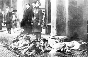 In the early 20th century, the US experienced some of the deadliest industrial disasters in history. On March 25, 1911, a scrap bin fire at New York City's Triangle Shirtwaist Factory would lead to the deaths of 146 people because the owners locked the doors to the stairwells and exits to prevent theft. This would lead to growth in unionization for garment workers as well as improved safety standards.