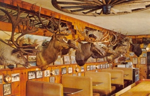 Okay, I know it's not entirely decorated with antlers, but I couldn't resist that. Nevertheless, I'm sure this restaurant isn't recommended for Mount Lebanon residents.