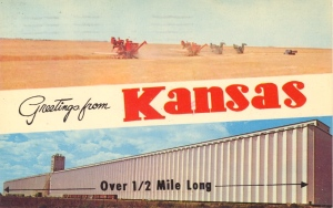 Really Kansas? Surely your state must have something more interesting than an over 1/2 mile long building.