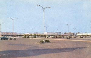 Known for its vast picturesque parking space. Just look at all the untamed streetlights and asphalt.