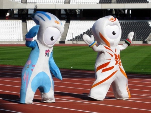 "From SBNation: ""Two all-seeing cyclops with pincers for hands and stern looks on their faces. They have no mouths and one of them is insisting that his entire crotch area be highlighted, as to better draw the eye. They are absolutely two seconds away from unfurling a laser-beam blast from their forehead jewels and laying waste to Olympic Stadium. What they thought was a book containing Mandeville's name was actually a dusty cookbook called 'How to make MAN into DEVILLEd eggs.'"""