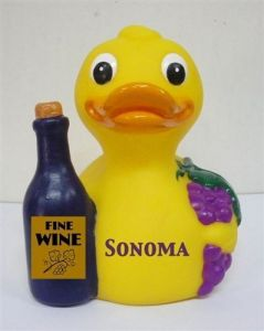 Didn't know that wine lovers would be into rubber ducks. But this is adorable.