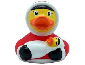 Well, this is an Inuit rubber duck, anyway. And no, real Arctic ducks don't look like that.
