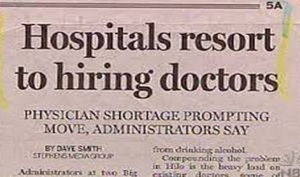Which is exactly what hospitals do. Because that's where many doctors work.