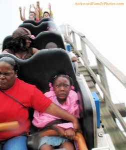 My dad is totally this girl when it comes to roller coasters. She'll be in for a wild ride.