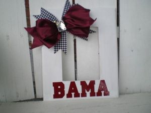 "It just has a lovely bow and ""Bama."" What more can a Tide fan want?"