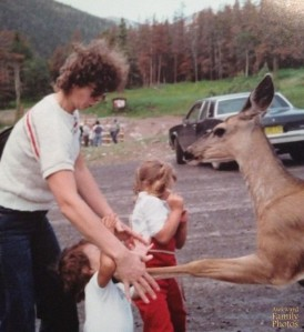 Man, some animals just don't seem to know fear. Don't worry the girl only received a bruise.