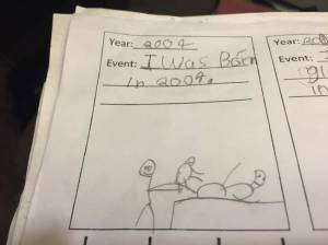 Hey, the kid's right. But that doesn't mean they should show it in graphic stick figure detail.