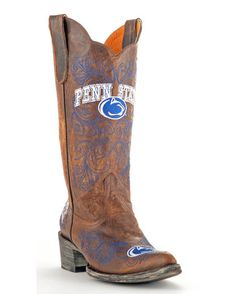 I can understand if these are sold in the western colleges, especially if they have a western themed mascot. But Penn State? State College was never in cowboy country!