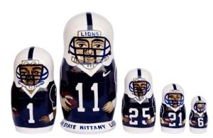 Not sure who all these players are. But I do think these dolls are very well made.