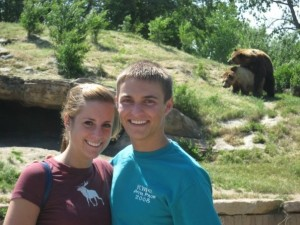 Except when you see two bears mating in the background. Yes, that's what hot grizzly action looks like kids. No joke.