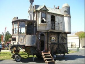 No, I don't know if the Victorians had campers like that. But if they did, it would pretty much look like it.