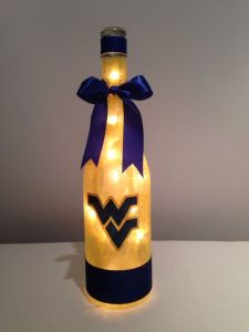 Seems to glow brighter than a couch fire in Morgantown. Love the blue ribbon.