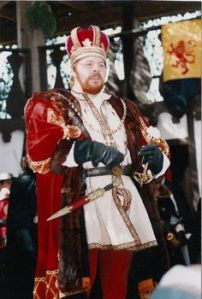 You know the English Tudor king who was married 6 times, beheaded 2 wives and a lot of his friends, broke with the Catholic Church, and later got very fat towards the end of his life. Yes, that's the ruthless and colorful Henry VIII.