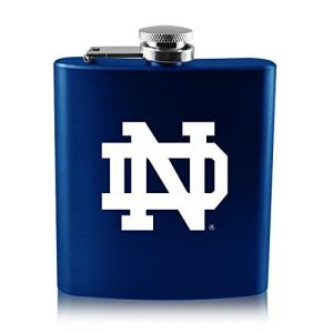 And yet, another example of Notre Dame playing to offensive Irish stereotypes. Because what is anyone going to keep in a hip flask? Water? Oh, hell no.