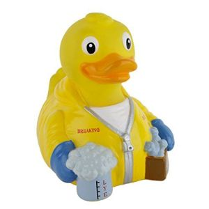 Yes, this is a Breaking Bad rubber duckie. It's definitely not for a child's bath time at all.