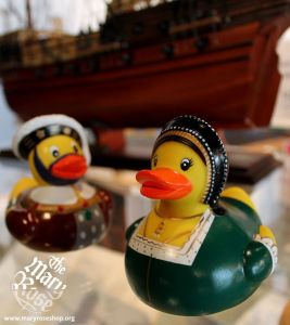 Wonder why they don't have rubber ducks for Henry VII's other wives. Also, does Anne's duck come with a detachable head? Because we know what happened to her.