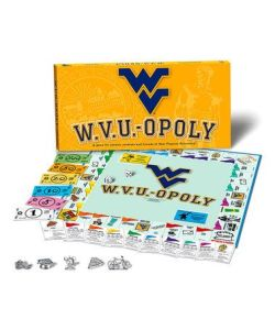 It's like Monopoly except the winner hast to torch their couch on fire. Because that's a crazy WVU tradition.