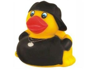 Apparently, he's a recording artist in a musical genre called Quacksta' Rap. You may have heard of it.