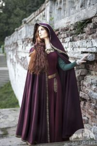 Often it wouldn't in the Middle Ages, because even the nobles had a very limited wardrobe. Seriously, clothes were expensive at that time.