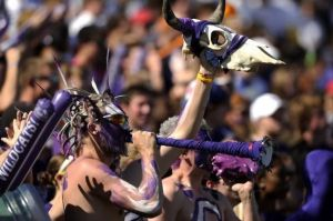 Even if it means, resorting to crazy hair styles and coming to games with a cow skull. Yes, he's willing to try anything.