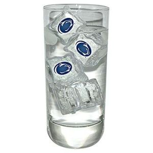 Yes, you read that right. These are reusable ice cubes with Penn State logos. Don't ask me how that works.