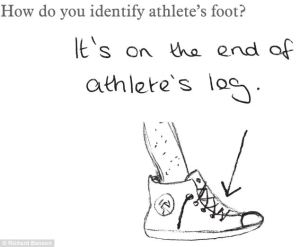 In a way, yes. But athlete's foot is a fungal foot disease which doesn't look pretty.