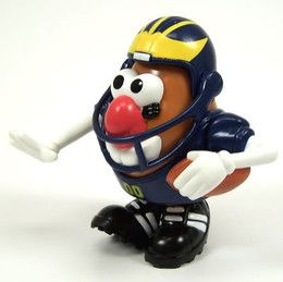 Seems like there's a Mr. Potato Head for everything these days. Even in college football apparently.