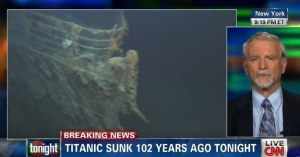Sorry, CNN, but the fact the Titanic sank over 100 years ago isn't breaking news. Or even news. It's common knowledge that everyone should know by now.