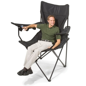 No, this isn't photoshop. The chair is actually that big. Take my word for it. Believe me.