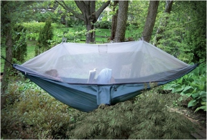 Not sure if it qualifies as a tent. But I wouldn't mind having this on a camping trip. Looks nice and cozy.