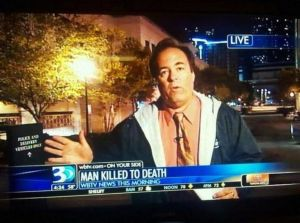 """Killed to death"" really? That really doesn't help matters. Just say the guy was killed because it's obviously a murder story."