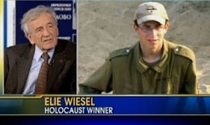 For crying out loud, Fox News, Wiesel's a Holocaust survivor, not a winner. The Holocaust was a mass genocide, not a contest. This is fucked up.