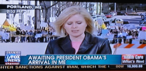 Not if Michelle has anything to do with it. Still, that caption is so suggestive. Yet, Fox News didn't change it.