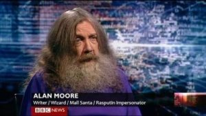 Well, he certainly looks the part since he has a long beard and hair. Yet, it's kind of hard to take seriously.