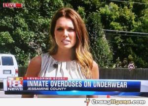 First off, how is overdosing on underwear possible? Second off, why would anyone even try?