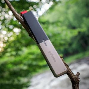 Because if you're stuck in the woods, you'll bet there's a strong chance of no cell phone service. Keep that in mind.