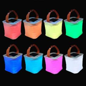 Comes in 8 different colors. But they store power from the sun during the day. And use it during the night.
