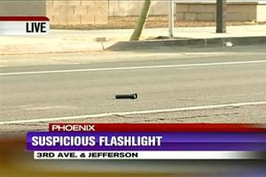I guess this is going to come down to a waste of airtime as reporters speculate who left the flashlight in the parking lot. Stay tuned.
