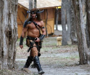 I don't see why Barbarian costumes seem so skimpy. I mean wouldn't they wear more since they came from colder areas? Just a thought.