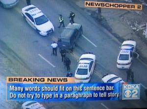 Another local station where I live. Seems like a captioner wasn't doing their job at a critical moment.