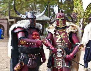 Doesn't hurt if they have fur capes on them to add effect. Even the red armor makes them seem intimidating.